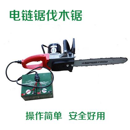 厂家直销充电式电链锯直流电链锯伐木锯 电锯 电动工具